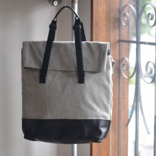 DAYTOTERAW BLEND LEATHER CANVAS