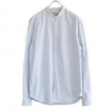 ブラシュドオックススタンドカラーシャツF50940