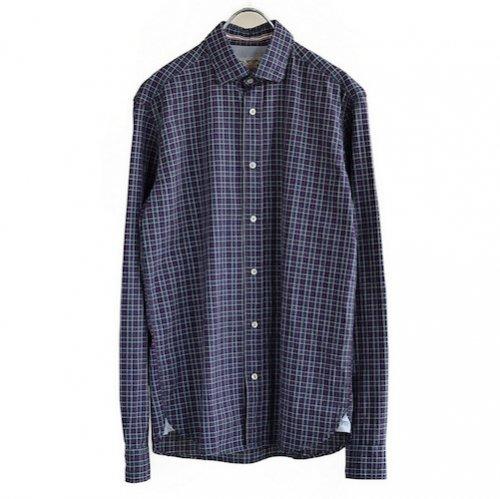 イタリアンビンテージチェックダウンシャツF50971