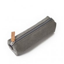PENCIL POUCHORGANIC WASHED GREY