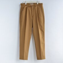 Belted 1Tuck Chino Trousers19aw-PT01