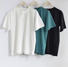 Henley neck T-Shirt JM5713
