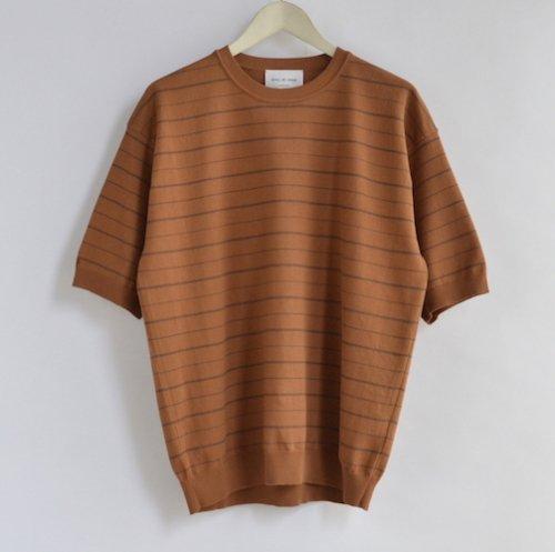ボーダーニットTシャツKN02202