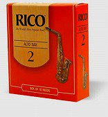 RICO リコ / アルトサックス リード 25枚入り