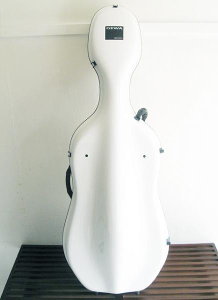 GEWA ゲバ / IDEA Futura(チェロケース ホワイトカラー)
