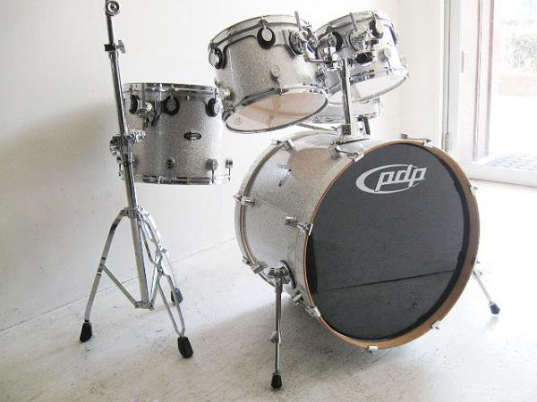 PACIFIC DRUMS  パシフィック ドラム / CX SERIES 5Piece Set シルバースパークル