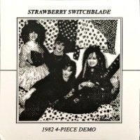 STRAWBERRY SWITCHBLADE / 1982 4-Piece Demo  【 NEW WAVE 】 ( 7 inch/UK )