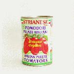 STRIANESE ストリアネーゼ  有機ホールトマト缶 400g