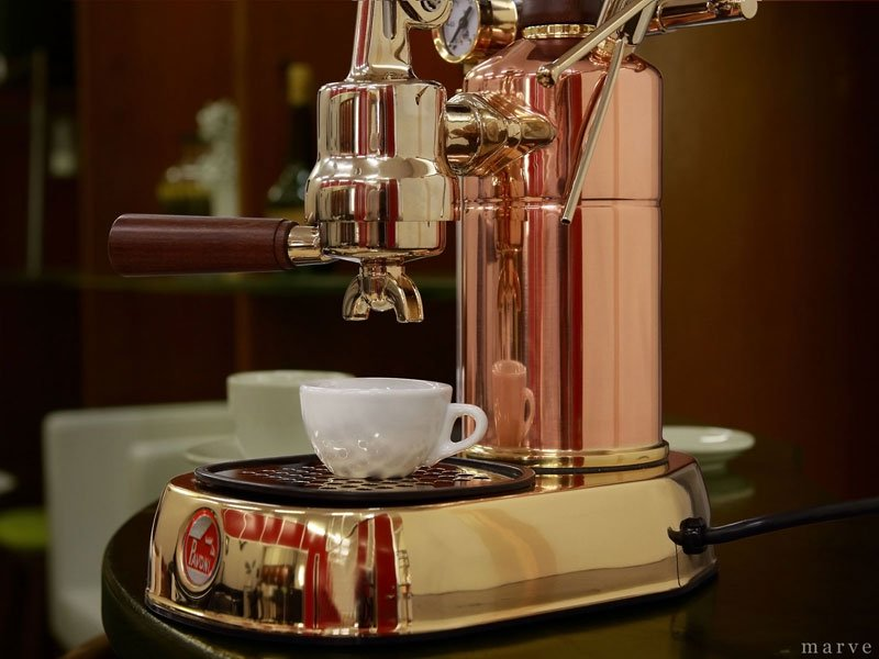 "la Pavoni ラ・パボーニ ""PROFESSIONAL"" PRG 銅&18金ボディ<img class='new_mark_img2' src='//img.shop-pro.jp/img/new/icons16.gif' style='border:none;display:inline;margin:0px;padding:0px;width:auto;' />"
