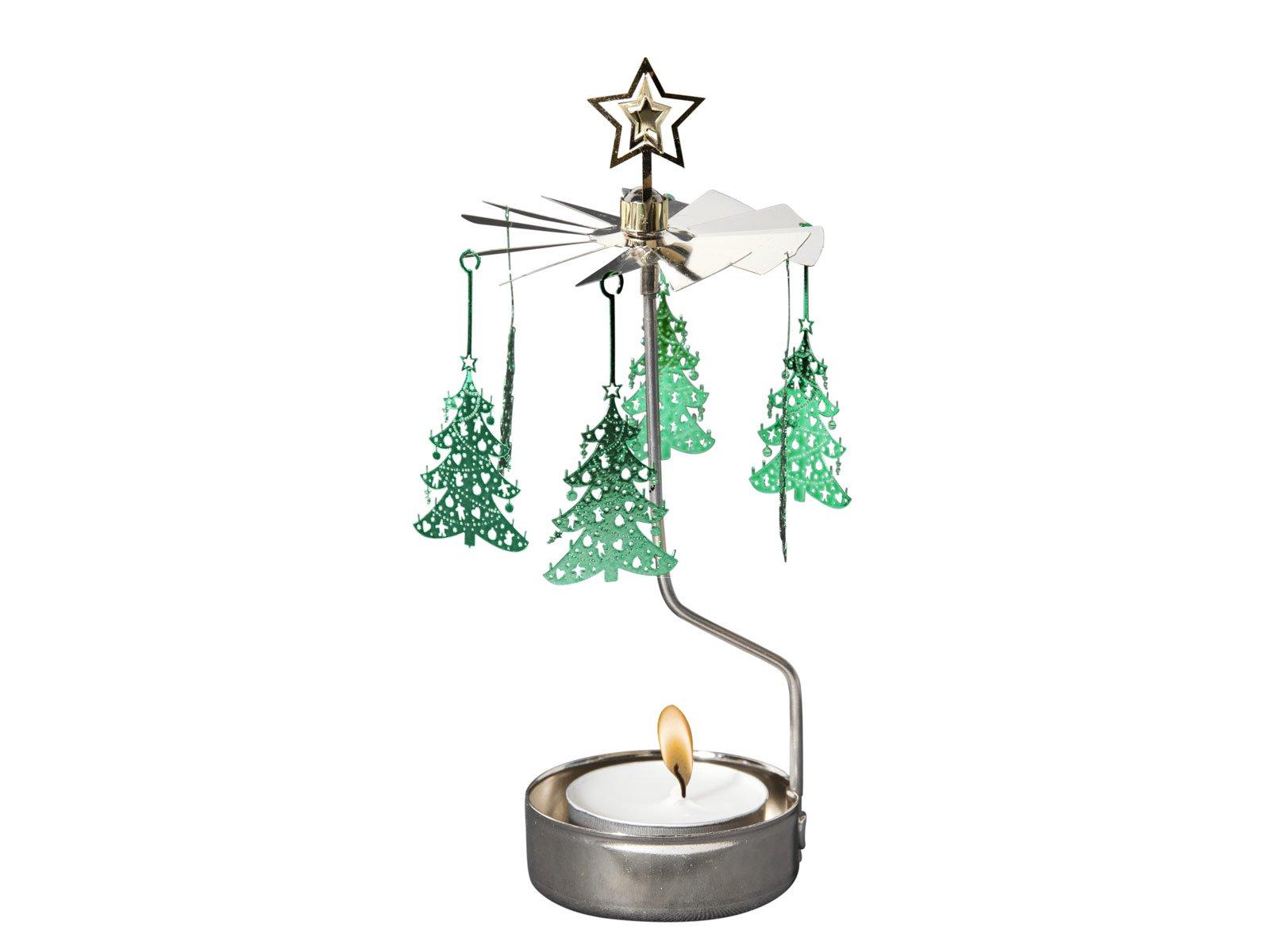 ロータリーキャンドルホルダー クリスマスツリー