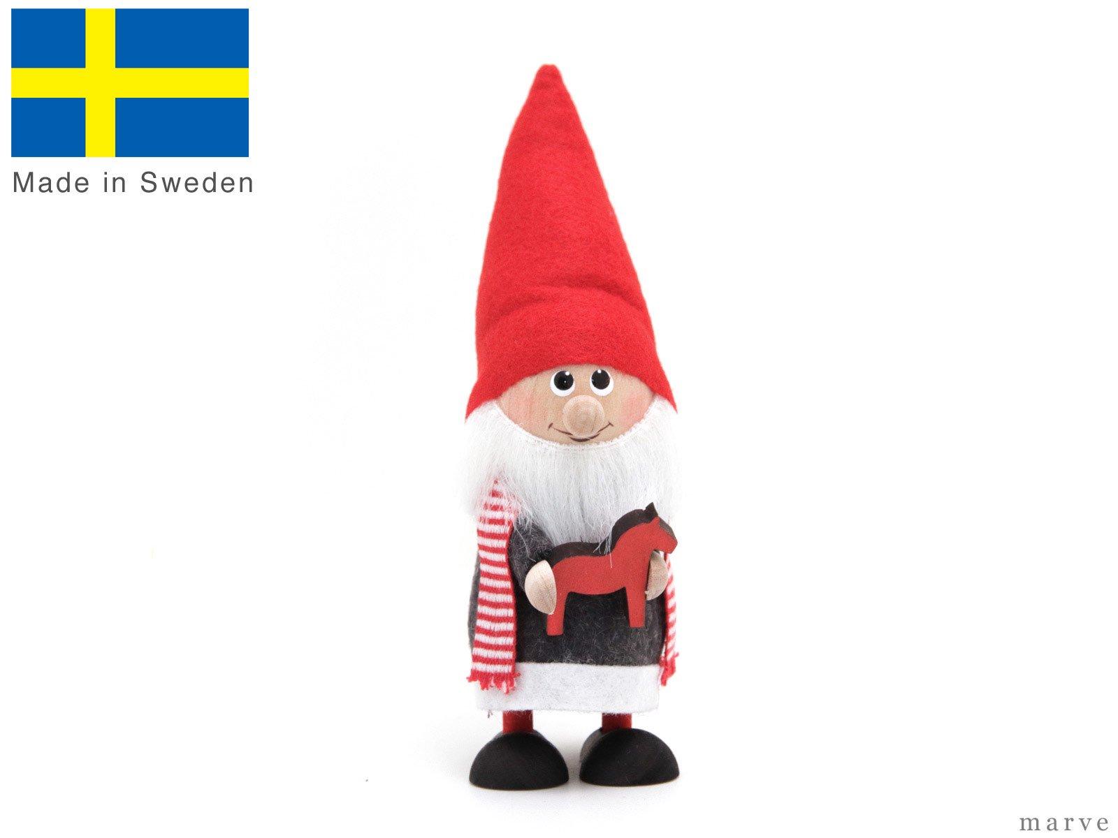 Skandinavisk Hemslojd AB トムテ人形 トムテとホース