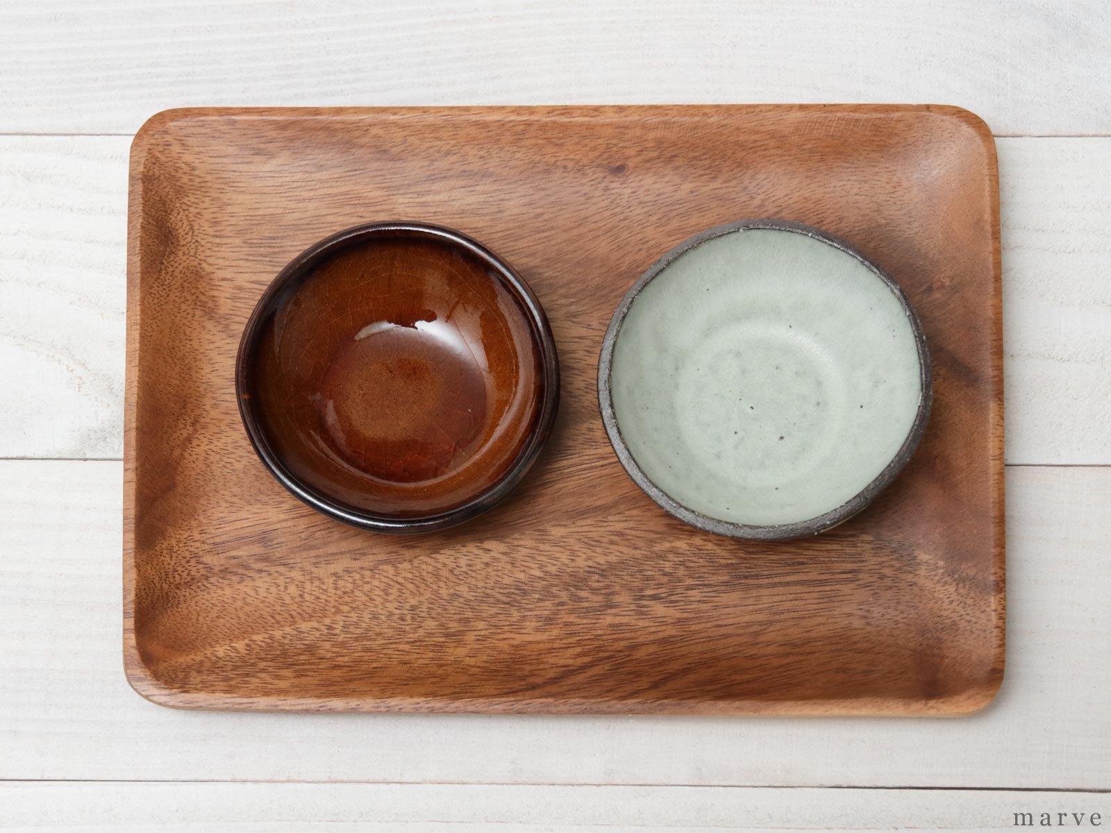 caramel(カラメル)豆皿 丸  柴田サヤカ