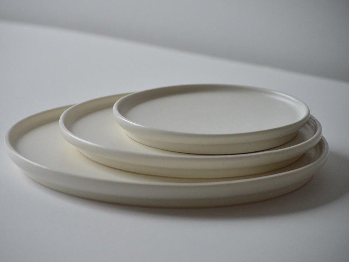 SUZUGAMA(スズガマ) White series フラットプレートS