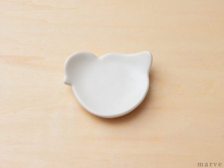SUZUGAMA(スズガマ) White series トリマメ皿