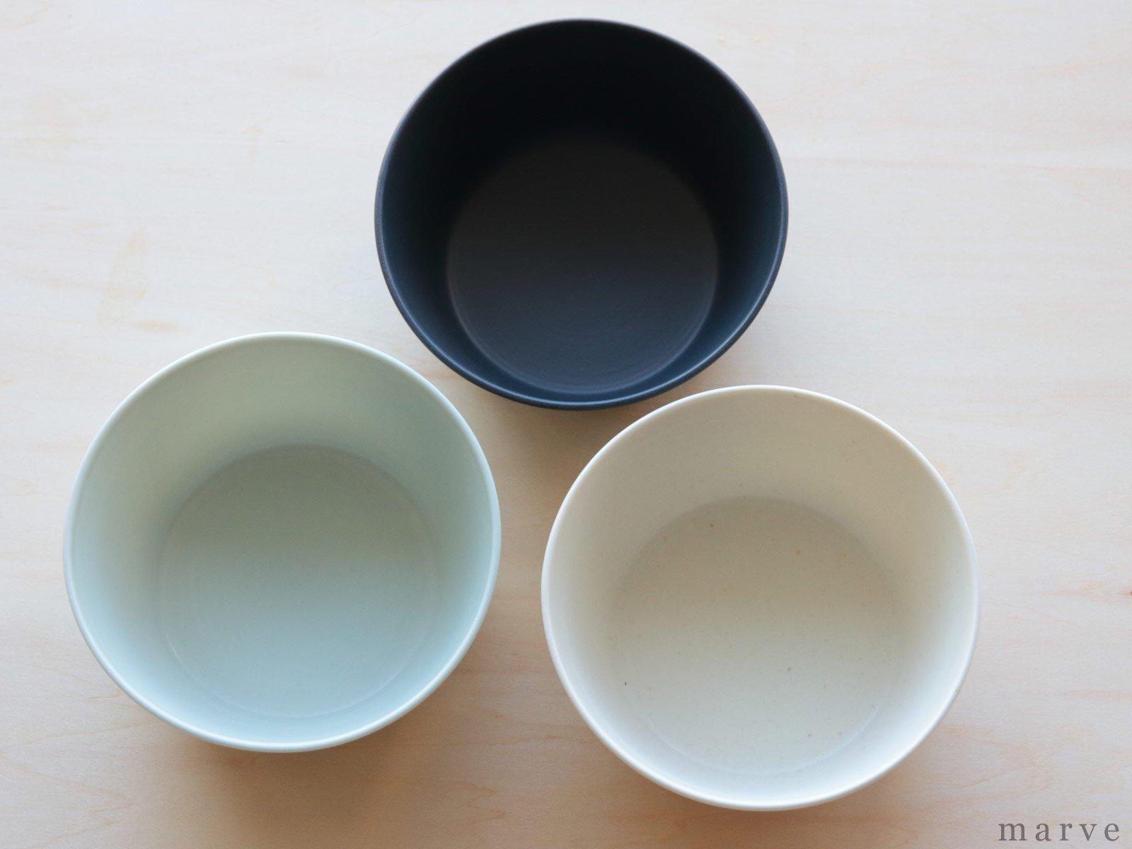 KANEAKI SAKAI POTTERY flat bowl ペールブルー
