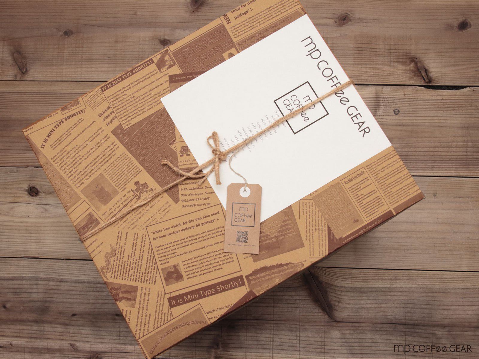コーヒーギフトBOX ケトル+ドリップスケール他 8点セット mp COFFee GEAR