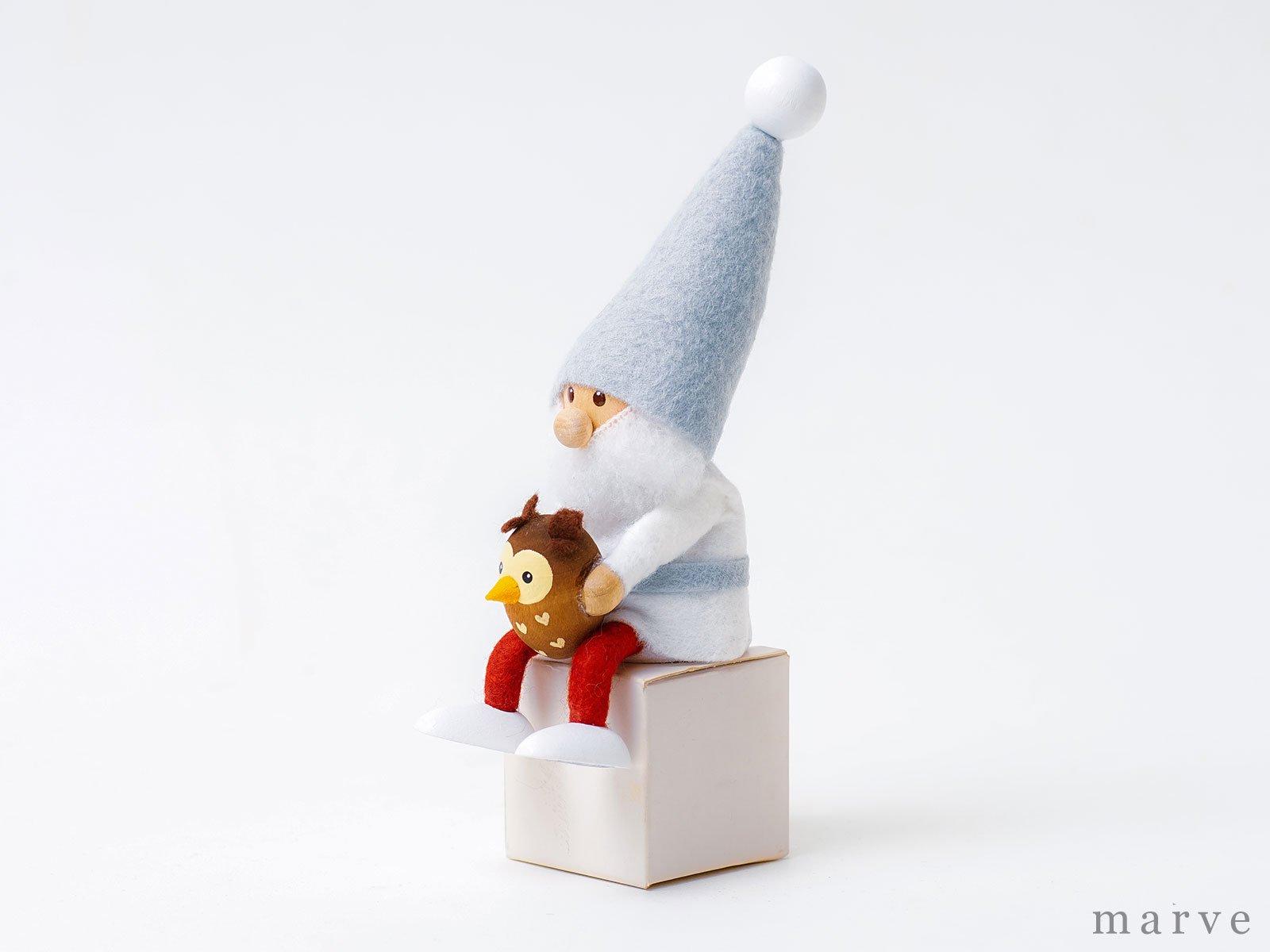 【完売しました】NORDIKA design ニッセドール「フクロウを抱えたサンタ」