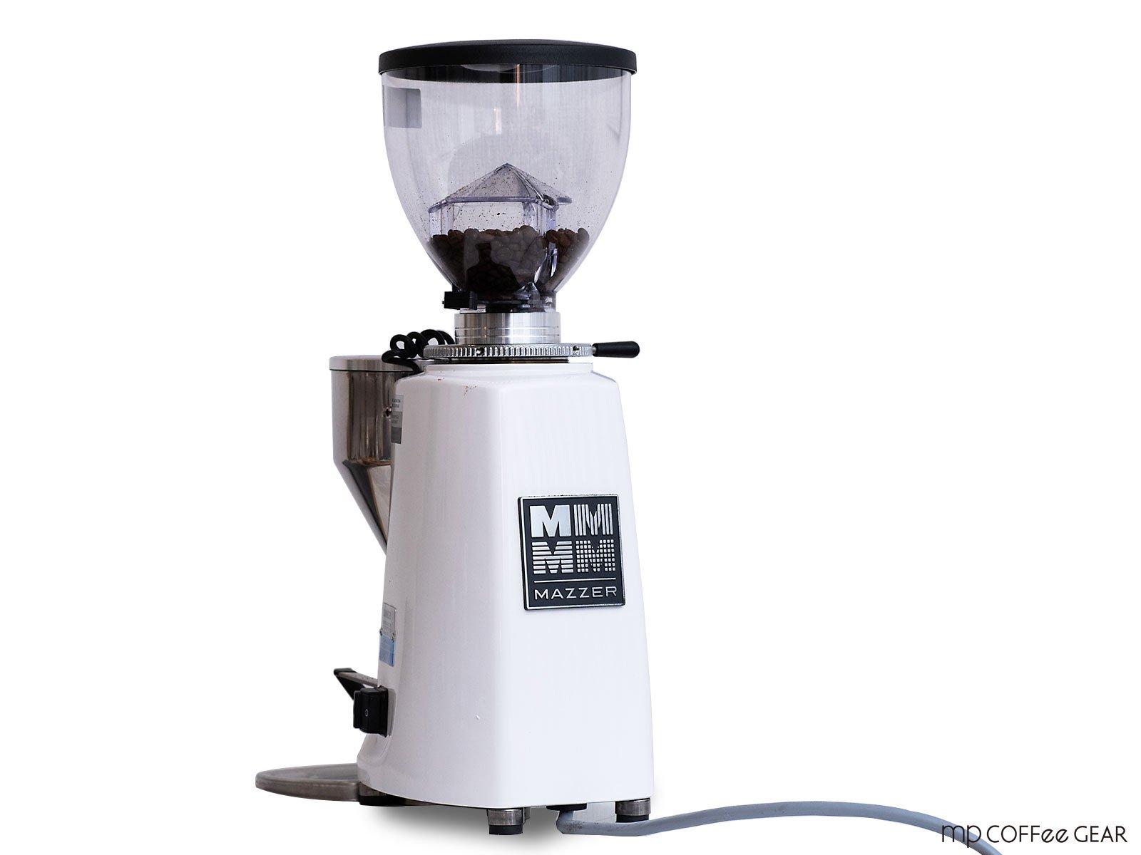 MAZZER(マッツァ)グラインダー MINI - ELECTRONIC(A) ホワイト