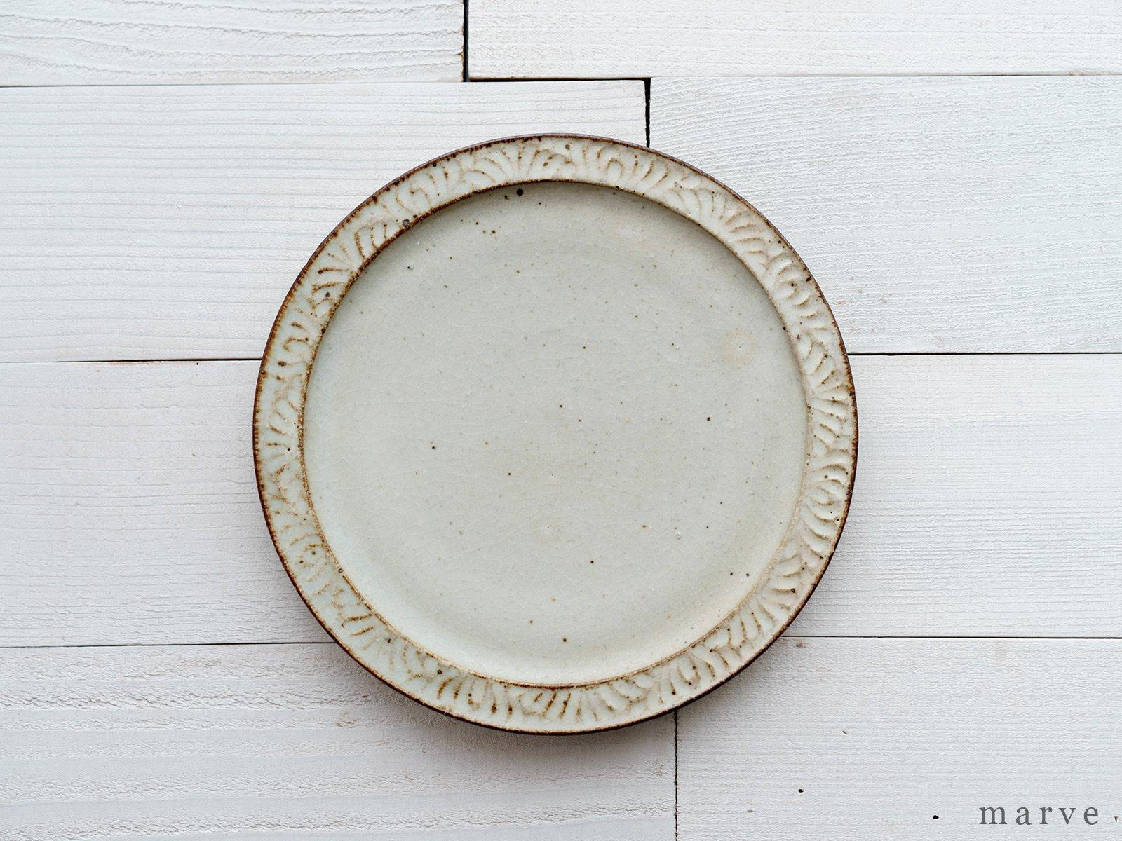 伊藤豊 波紋 6.5寸皿