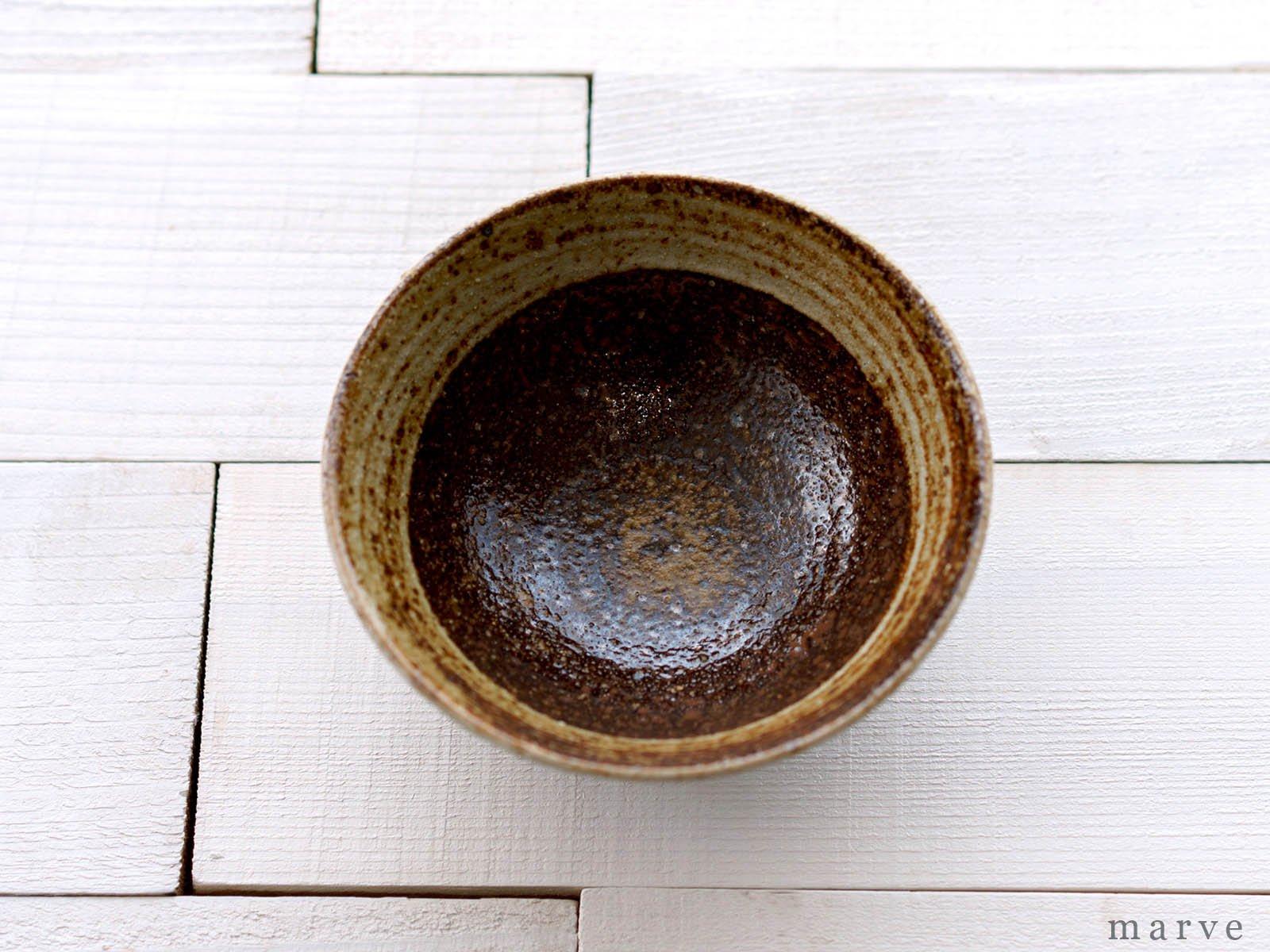 伊藤豊 刷毛目(はけめ) 茶碗