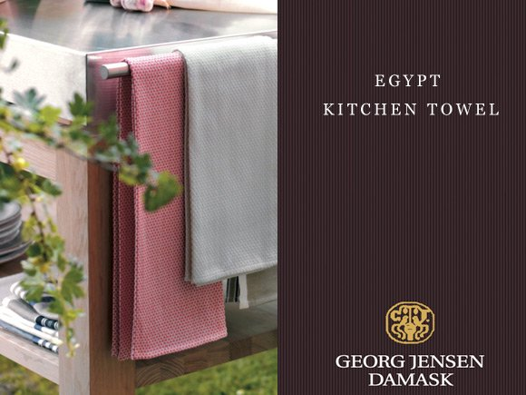 Georg Jensen Damask キッチンタオル EGYPT