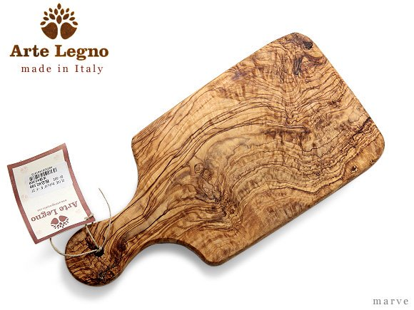 【OUTLET】Arte Legno(アルテ・レーニョ) オリーブウッド カッティングボード 27cm<img class='new_mark_img2' src='https://img.shop-pro.jp/img/new/icons16.gif' style='border:none;display:inline;margin:0px;padding:0px;width:auto;' />