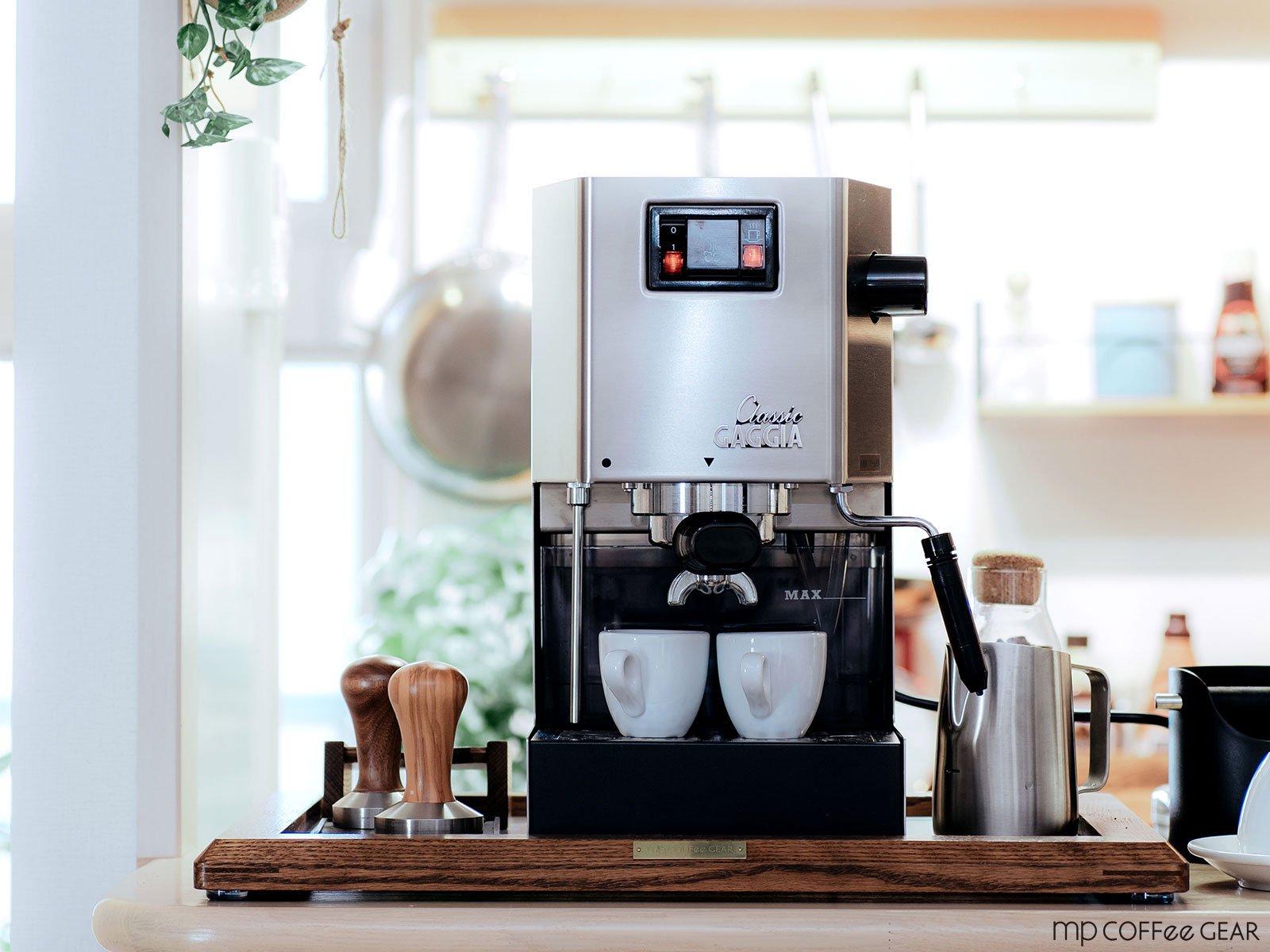 GAGGIA ガジア セミオートエスプレッソマシン Classic クラシック & WPM コーヒーグラインダー