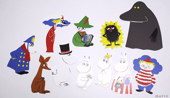 FLENSTED moomin mobile ムーミン モビール