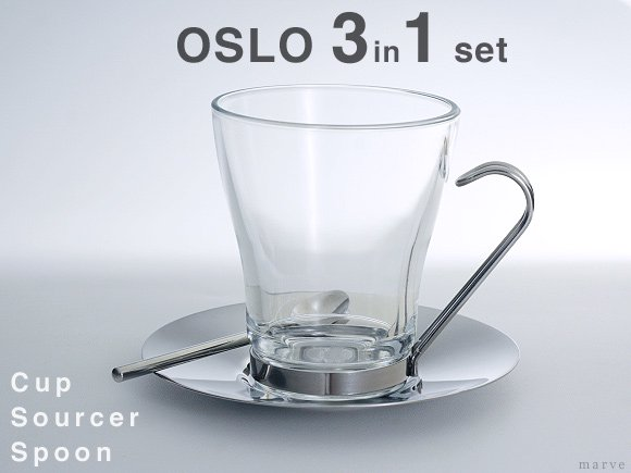OSLO CAPPUCCINOカップセット 3 in 1<img class='new_mark_img2' src='//img.shop-pro.jp/img/new/icons55.gif' style='border:none;display:inline;margin:0px;padding:0px;width:auto;' />