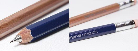 鉛筆型シャーペン ENPITSU Mechanical Pencil ネイビーブルー
