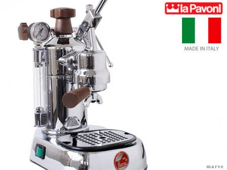 "la Pavoni ラ・パボーニ ""PROFESSIONAL"" PLH ウッドレバーグリップ エスプレッソマシン<img class='new_mark_img2' src='//img.shop-pro.jp/img/new/icons16.gif' style='border:none;display:inline;margin:0px;padding:0px;width:auto;' />"