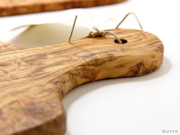 Arte Legno(アルテ・レーニョ) オリーブウッド カッティングボード 27cm