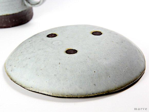 柴田サヤカ 15cmプレート(ショコラ色/グレー)