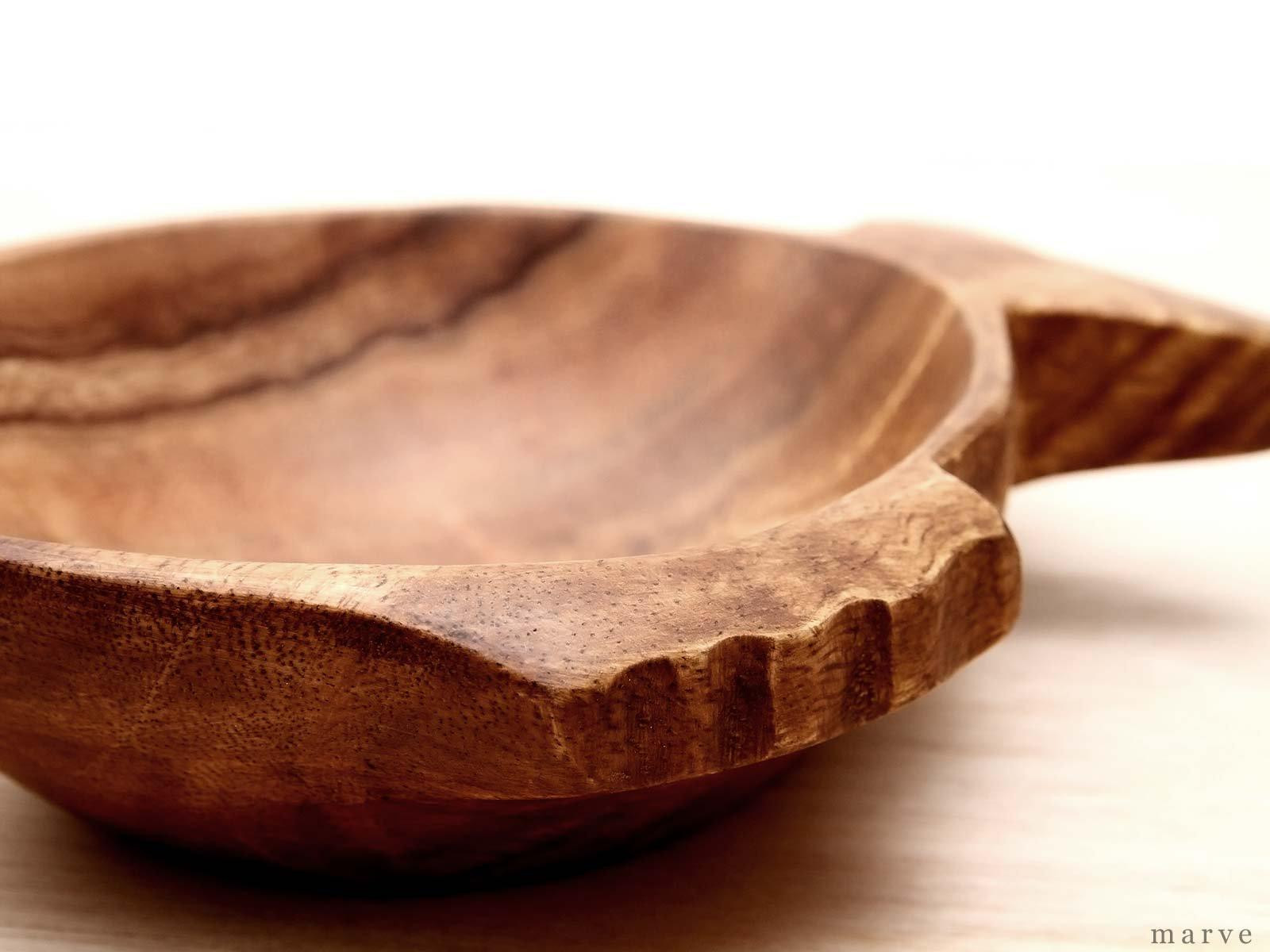 木の器 アカシアWOOD ボウル フィッシュ