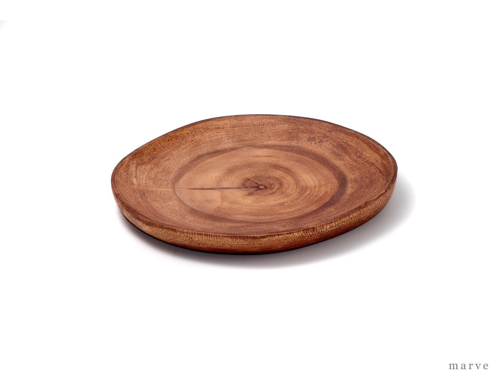 木の器 アカシアWOOD スライスプレートSS