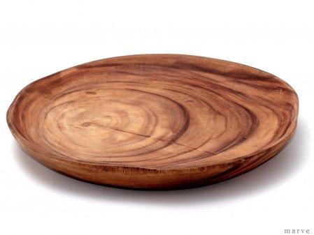 木の器 アカシアWOOD スライスプレートL