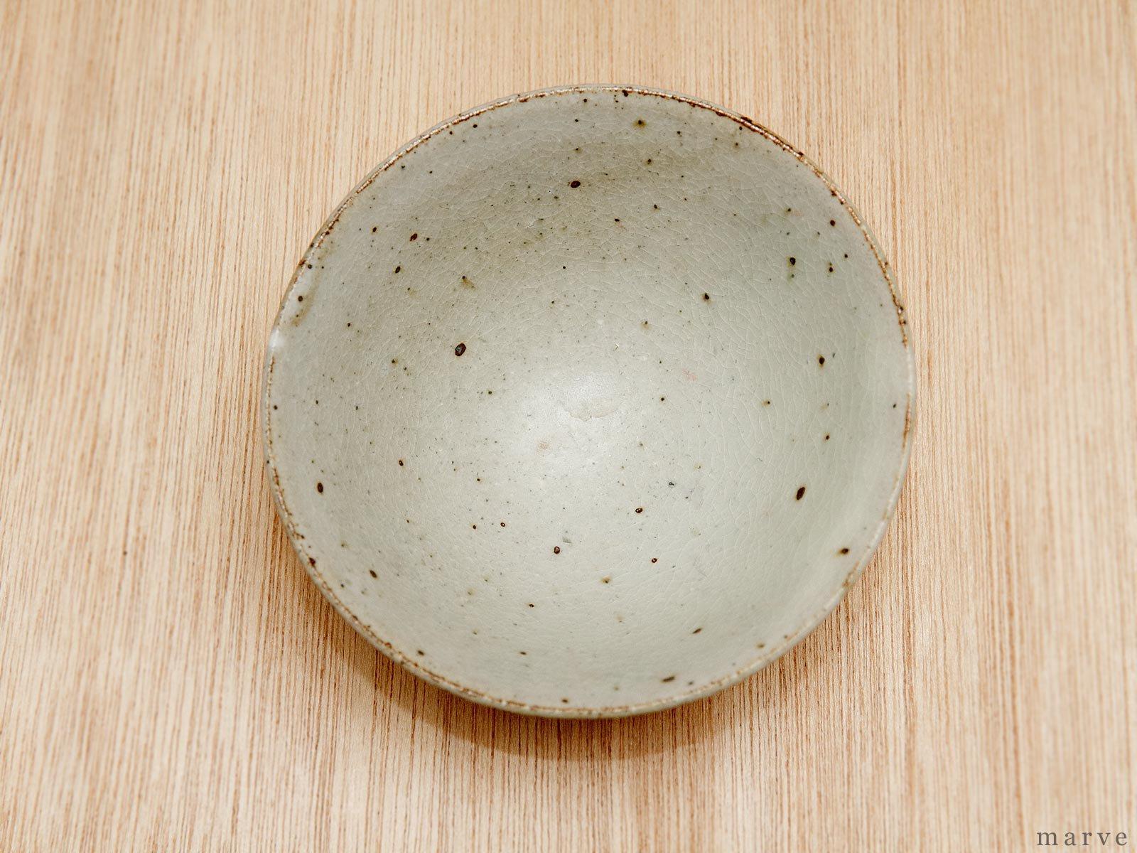 伊藤豊 鎬(シノギ) 茶碗 粉引