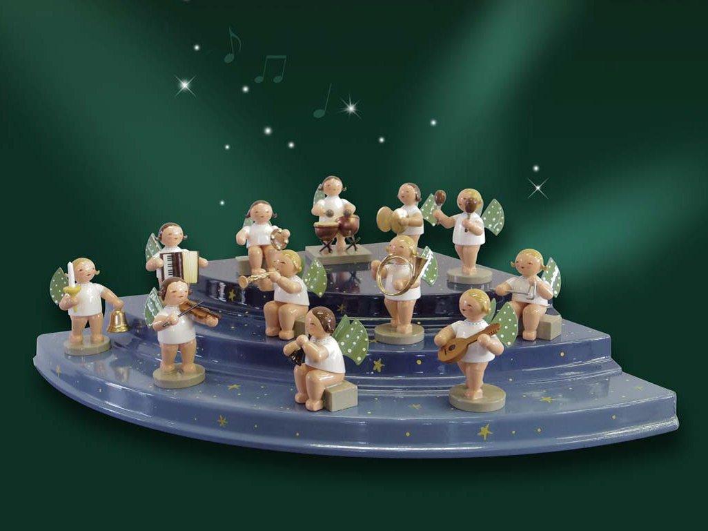 WENT&KUHN 天使飾り台 コーナーユニット3段