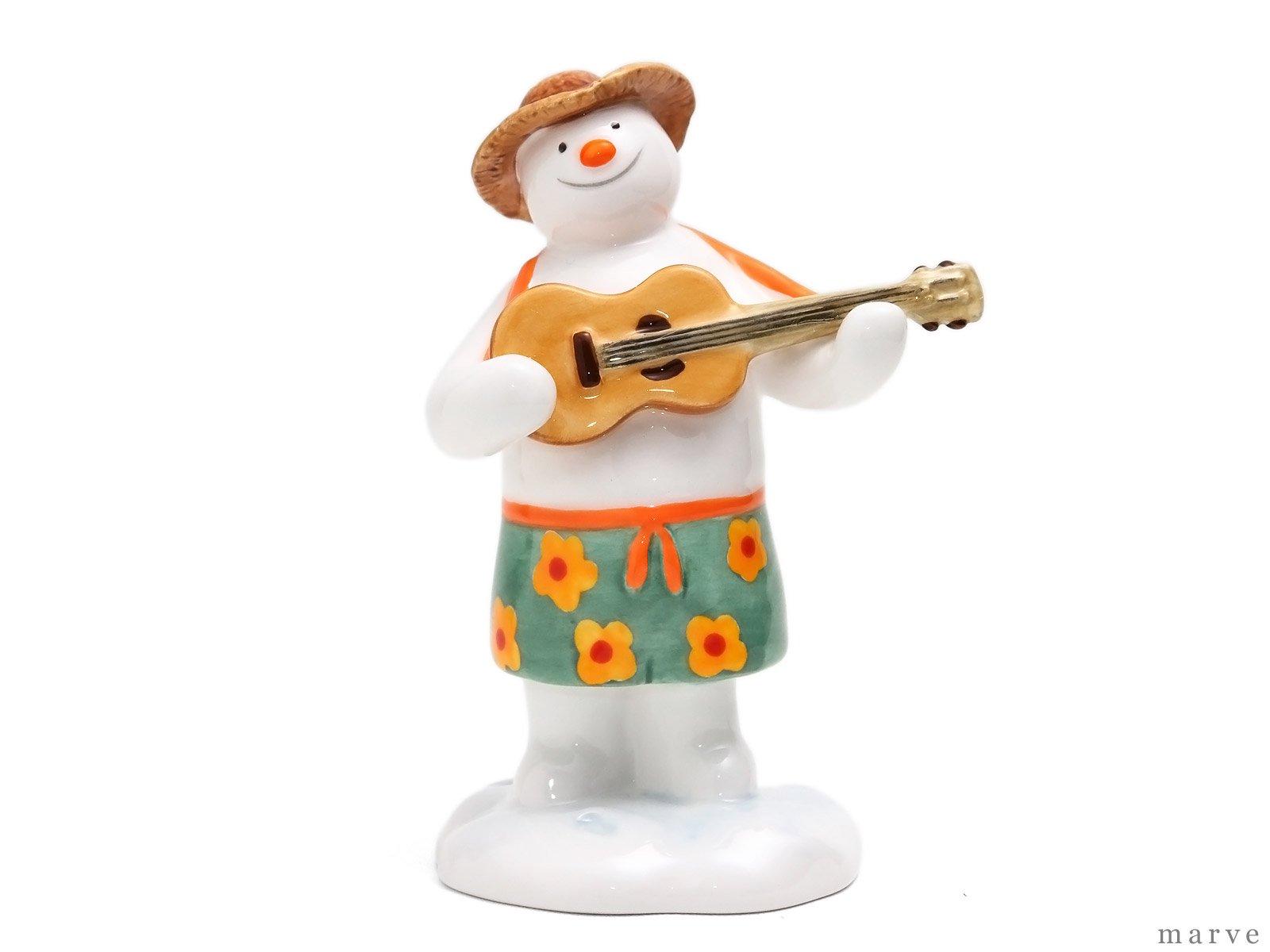 The Snowman フィギュリン ハワイアンスノーマン