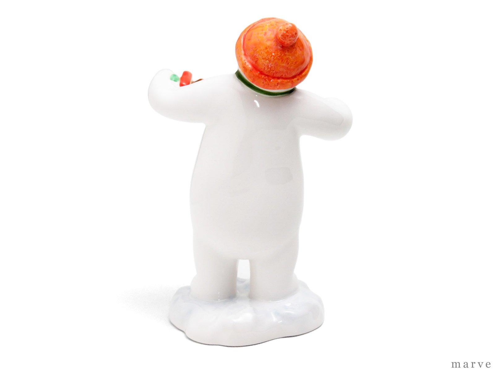 The Snowman フィギュリン アコーディオンスノーマン