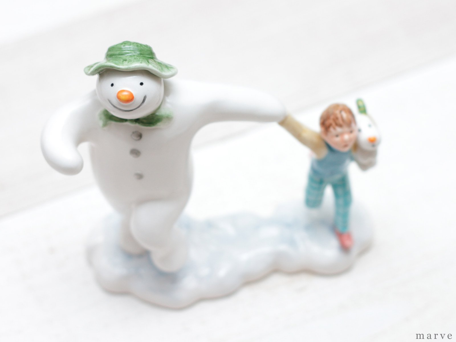 The Snowman フィギュリン テイクオフ
