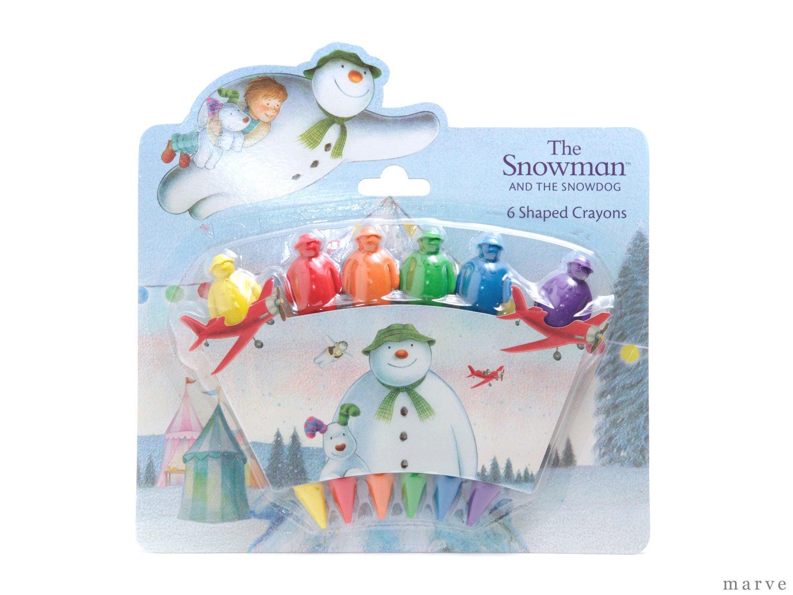 The Snowman スノーマン 3Dクレヨン