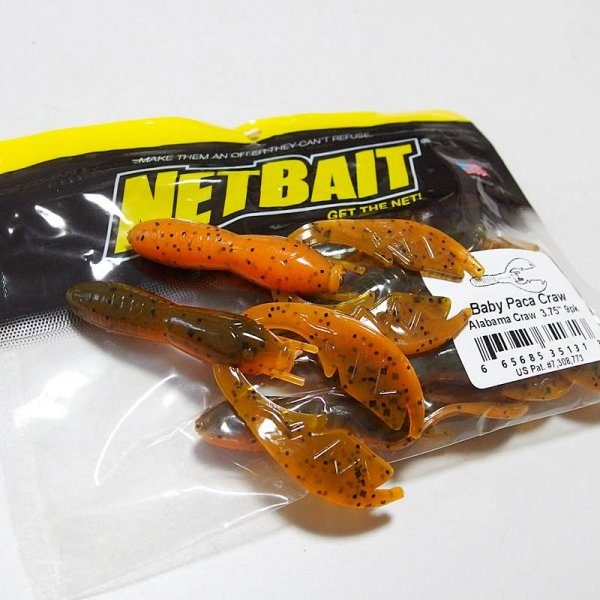 NETBAIT ネットベイト ベビーパカクロー # Alabama Craw