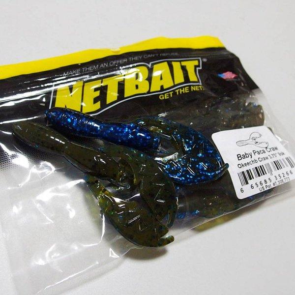NETBAIT ネットベイト ベビーパカクロー # Okeechobee Craw