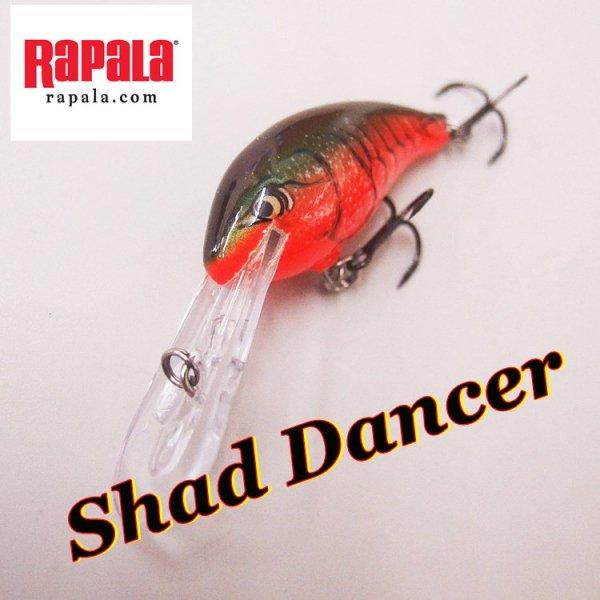 Rapala / ラパラ SHAD DANCER シャッドダンサー5cm
