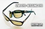 【お取り寄せ】 ガンクラフト偏光サングラス  NEW モデル「KISSING EYE」