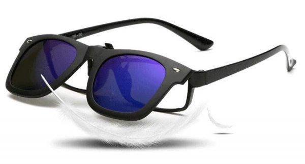 普段の眼鏡にクリップオン!偏光サングラス クラッシックスタイル