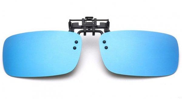 普段の眼鏡にクリップオン!バーニス 偏光サングラス クリップオンタイプ