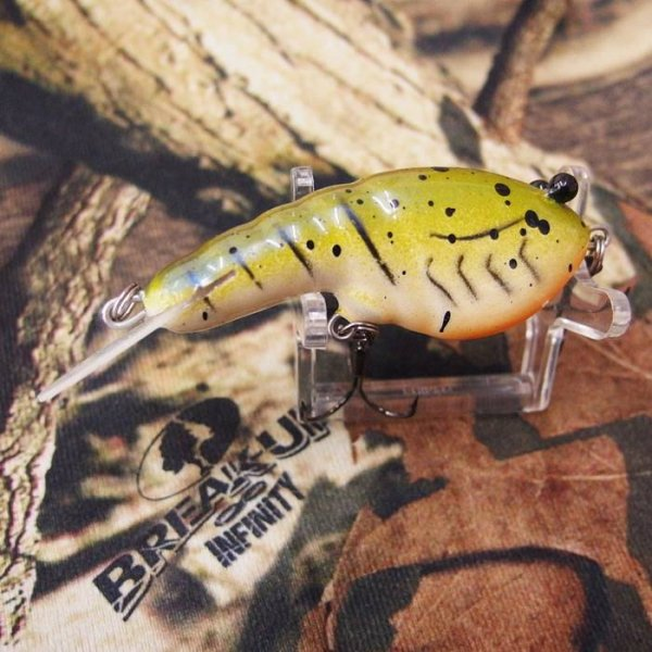 PH Custom Lures Lowen's Cyber Craw #Mossy Mudbug