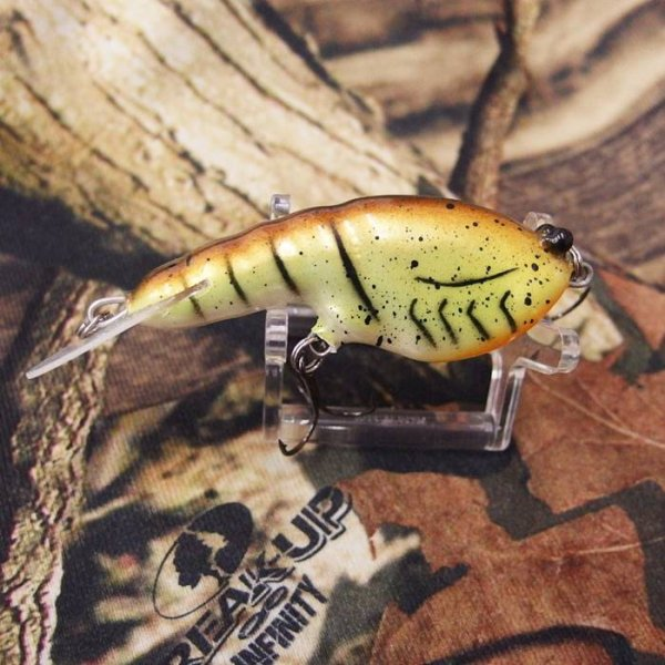 PH Custom Lures Lowen's Cyber Craw # Chartreuse Mudbug